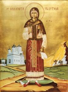Sf Muc. Filofteia de la Curtea de Arges